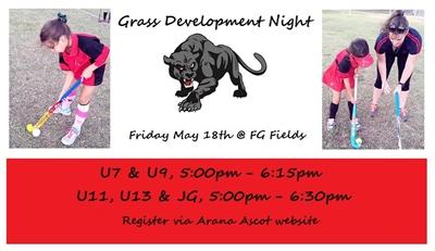 grass development night